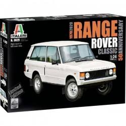 Automodello in kit da costruire Italeri 3629 Range Rover Classic 50th Anniv. 1:24