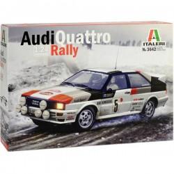Automodello in kit da costruire Italeri 3642 Audi Quattro Rally 1:24