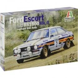 Automodello in kit da costruire Italeri 3650 Ford Escort RS 1800 MK.II Lombard 1:24
