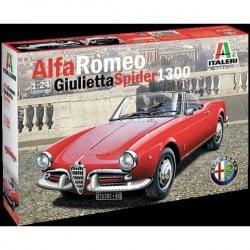 Automodello in kit da costruire Italeri 3653 Alfa Romeo Giulietta Spider 1300 1:24