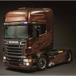 Camion in kit da costruire Italeri 3897 Scania R730 V8 Black Amber 1:24