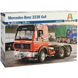 Camion in kit da costruire Italeri 3943 Mercedes-Benz 2238 6x4 1:24