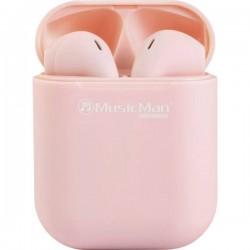 Music Man BT-X57 Bluetooth HiFi Cuffie auricolari Auricolare In Ear headset con microfono, regolazione del volume Rosa