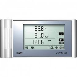 Data logger multifunzione Lufft Opus20 TCO Misura: Temperatura, Umidità dellaria, CO2 -20 fino a 50 °C 10 fino a 95 %