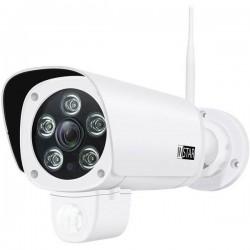 INSTAR IN-9008 Full HD white 10091 LAN, WLAN IP Videocamera di sorveglianza 1920 x 1080 Pixel