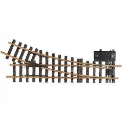 16050 G LGB Scambio, elettrico, destro 440 mm 22.5 ° 1243 mm