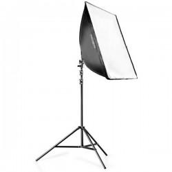 Walimex Set Daylight 250 + 40 x 60 cm Lampada fotografica 50 W