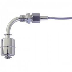 REED Electronics R1/4/verst.-EO/S-L75/WI35-E27Z-1mPVC Interruttore a galleggiante 230 V/AC 0.4 A 1 NA, 1 NC IP67 1 pz.