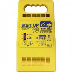 GYS START UP 80 024922 Caricatore automatico, Tester batteria per auto, Sistema di accensione rapido 12 V 25 A