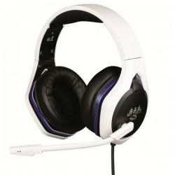 Konix HYPERION HEADSET PS5 Cuffie Jack 3,5 mm Filo Cuffia On Ear Nero/Bianco