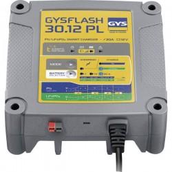 GYS GYSFLASH 30.12 PL 029668 Caricatore automatico, Monitoraggio batteria