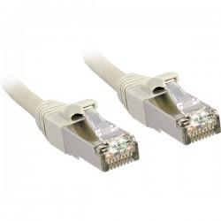 LINDY RJ45 45595 Cavo di rete, cavo patch CAT 6 S/FTP 80.00 m Grigio con protezione
