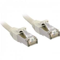 LINDY RJ45 45597 Cavo di rete, cavo patch CAT 6 S/FTP 100.00 m Grigio con protezione