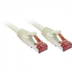 LINDY RJ45 47851 Cavo di rete, cavo patch CAT 6 S/FTP 1.00 m Grigio con protezione