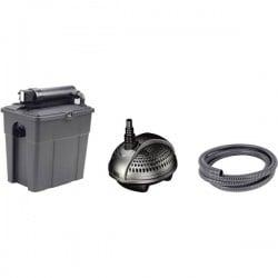 Pontec 50238 KIT filtri con sterilizzatore UVC 1500 l/h