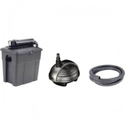 Pontec 50239 KIT filtri con sterilizzatore UVC 2500 l/h