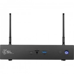 CSL Computer;Narrow Box Ultra HD;Mini-PC (HTPC)Intel;Celeron J4205(4 x 1.5 GHz / max. 2.6 GHz) 8 GB