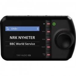 Tiny Audio C5 Ricevitore DAB+ streaming musica Bluetooth, vivavoce