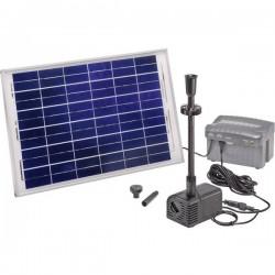 Esotec Siena Plus 101780 KIT pompa solare con illuminazione, con batteria tampone 1500 l/h