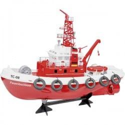 Carson Modellsport Barca antincendio RC TC-08 Motoscafo modello RtR 580 mm