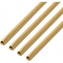 cablefix 160694 Canalina passacavi (L x L x A) 6 x 5 x 1000 mm 1 KIT Beige