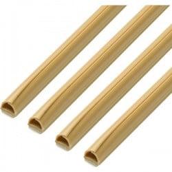 cablefix 160695 Canalina passacavi (L x L x A) 7 x 7 x 1000 mm 1 KIT Beige