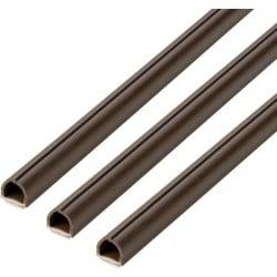 cablefix 160697 Canalina passacavi (L x L x A) 10 x 10 x 1000 mm 1 KIT Marrone