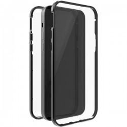 Black Rock 360° Glass Backcover per cellulare Apple Nero, Trasparente