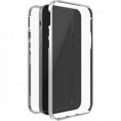 Black Rock 360° Glass Backcover per cellulare Apple Argento, Trasparente