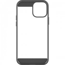Black Rock Air Robust Backcover per cellulare Apple Nero, Trasparente