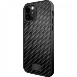 Black Rock Protective Real Carbon Backcover per cellulare Apple Nero