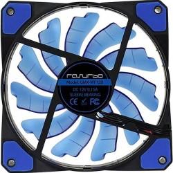 Rasurbo Fan 120 Ventola per PC case Blu (L x A x P) 120 x 120 x 25 mm