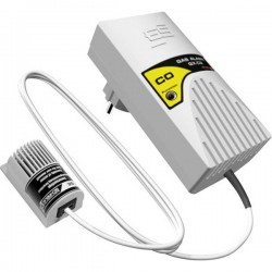 Schabus 300225 Rilevatore di gas rete elettrica Rileva Monossido di carbonio