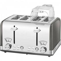 Profi Cook PC-TA 1194 Tostapane Con griglia scaldabriosche Antracite
