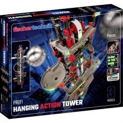 fischertechnik 554460 Hanging Action Tower Esperimenti, Kit, Meccanica Kit esperimenti da 8 anni