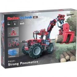fischertechnik 559876 Strong Pneumatics Kit da costruire da 9 anni