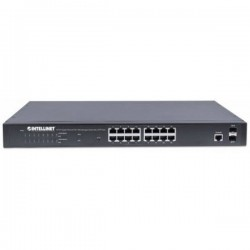 Intellinet 561198 Switch di rete 16 Porte Funzione PoE