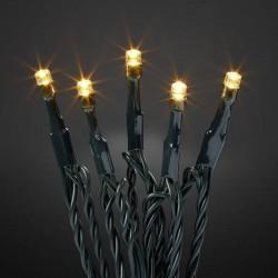 Hellum 576603 Micro catena luminosa esterno rete elettrica Numero di lampadine 80 LED (monocolore) Ambra Lunghezza