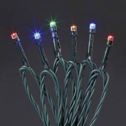 Hellum 577365 Micro catena luminosa esterno rete elettrica Numero di lampadine 80 LED (monocolore) RGB Lunghezza
