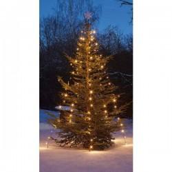 Hellum 577891 Mantello di luci LED per albero esterno rete elettrica Numero di lampadine 200 LED (monocolore) Bianco
