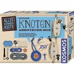 Kosmos 604325 Abenteuer-Box Esperimenti, Bricolage Kit esperimenti da 8 anni