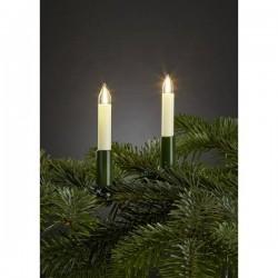 Hellum 802061 Illuminazione per albero di natale interno rete elettrica Numero di lampadine 20 LED (monocolore) Bianco