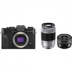 Fujifilm X-T30 Fotocamera con obiettivi intercambiabili XC 15-45 mm + XC 50-230 mm 26.1 MPixel Nero Touch Screen, Mirino