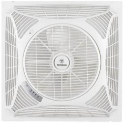 Westinghouse Windsquare Ventilatore da soffitto (L x L x A) 60 x 60 x 21 cm Col. pala: Bianco Col. corpo: Bianco