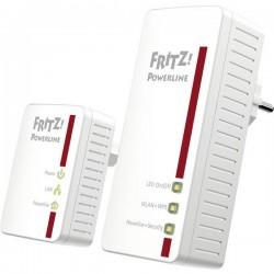 AVM FRITZPowerline 540E WLAN Set Powerline WLAN Starter Kit 500 MBit/s