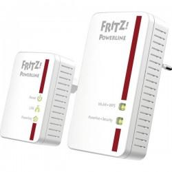 AVM FRITZPowerline 540E WLAN Set International Powerline WLAN Starter Kit 500 MBit/s