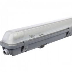 Müller-Licht Aqua-Promo 1/60 grey Gen. 6 Plafoniera LED impermeabile LED (monocolore) G13 10 W Bianco neutro