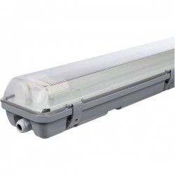 Müller-Licht Aqua-Promo 2/60 grey Gen. 6 Plafoniera LED impermeabile LED (monocolore) G13 20 W Bianco neutro