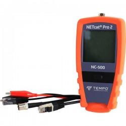Tempo Communications NC-500 PRO2 Apparecchio di rilevazione conduttori, dispositivo di controllo cavi, fino a 600 m
