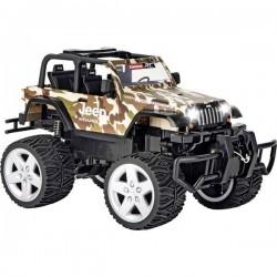 Carrera RC 370162122 Jeep Wrangler Rubicon Automodello per principianti